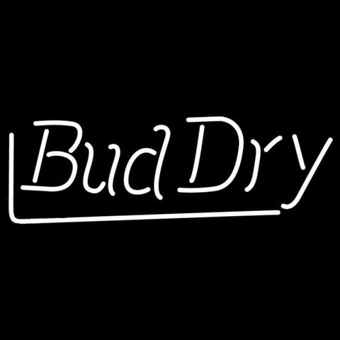 Bud Dry Beer Sign Handmade Art Neon Sign