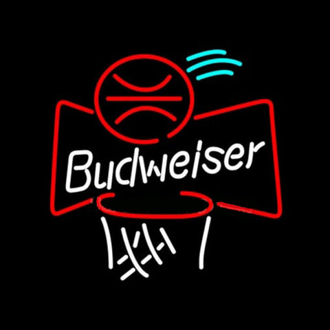Budweiser Basketball Handmade Art Neon Sign
