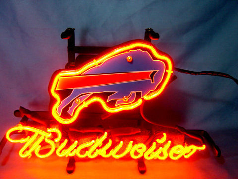 Buffalo Bills Football Neon Sign