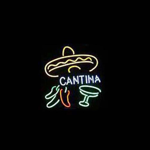 Professional  Cantina Beer Bar Open Neon Signs