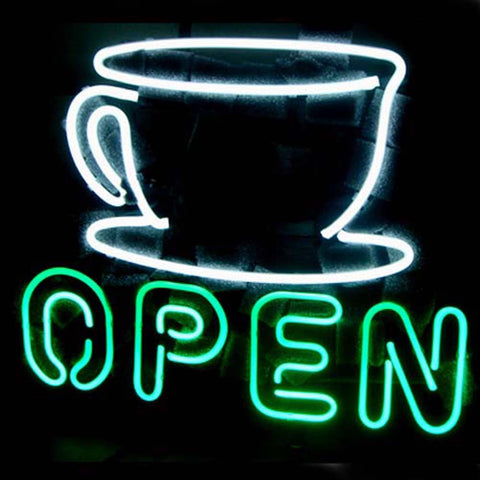 Professional  Coffee Shop Open Sign Beer Bar Neon Sign