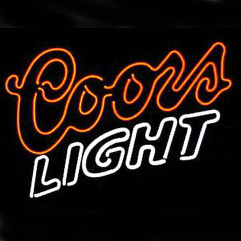 Professional  Coors Beer Bar Open Neon Signs