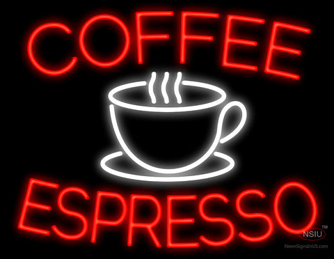 Coffee Espresso Cup Neon Sign