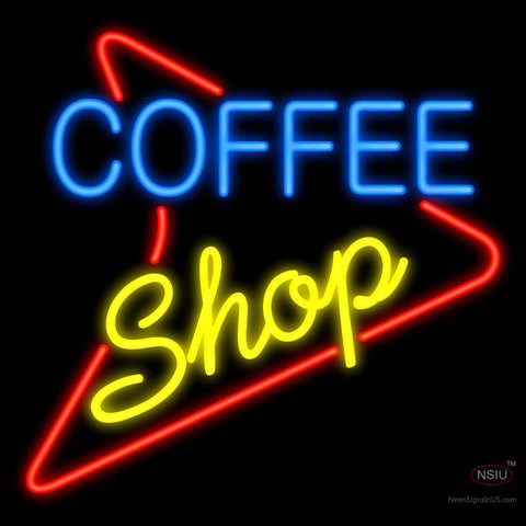 Coffee Shop 50's Style Neon Sign
