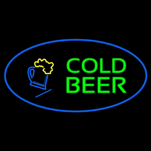 Cold Beer Handmade Art Neon Sign