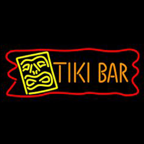 Dolphin Tiki Bar Neon Sign2
