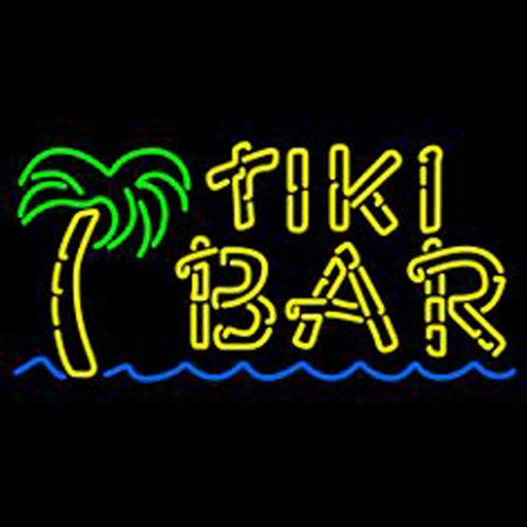 Dolphin Tiki Bar Neon Sign3