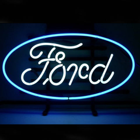 Professional  Ford Shop Open Neon Sign