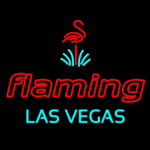 Flamingo Las Vegas Handmade Art Neon Sign