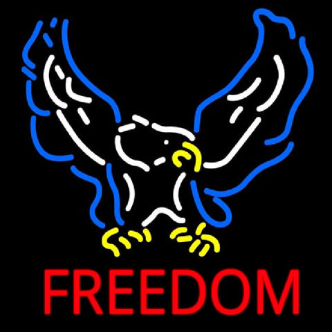 Freedom Handmade Art Neon Sign