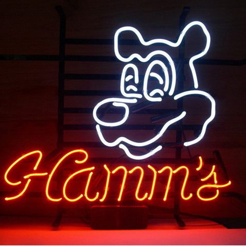 Professional  Hamms Neon Sign