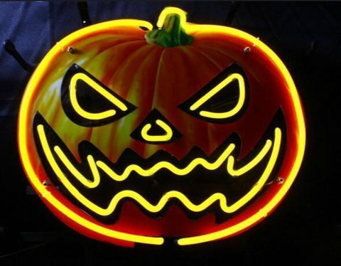 Halloween Pumpkin Neon Sign
