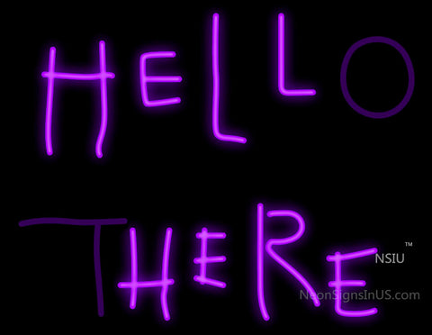 Hell Here (Hello There) Batman Returns Neon Sign