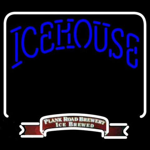 Icehouse Backlit Brewery Beer Sign Handmade Art Neon Sign