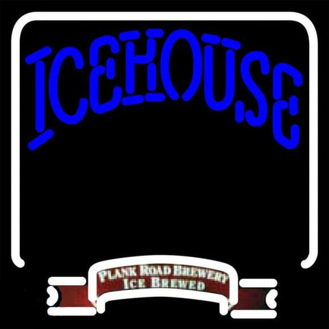 Icehouse Backlit BreweryBeer Sign Handmade Art Neon Sign