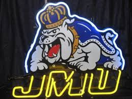 James Madison University JMU Neon Sign
