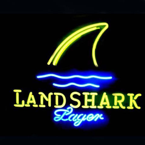 Professional  Land Shark Neon Sign