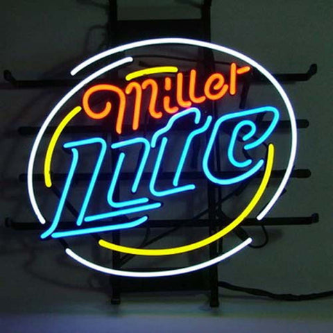 Professional  Miller Lite Beer Neon Bar Pub Sign