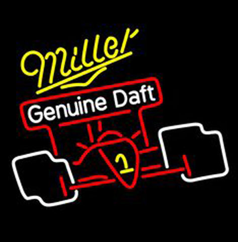 Miller Genuine Draft Cactus Neon Sign