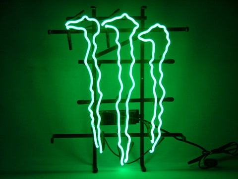 Monster Logo Neon Sign