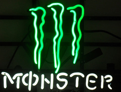 Monster Neon Sign