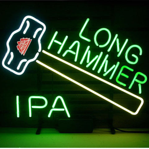 Professional  New Redhook Long Hammer Ipa Beer Real Neon Beer Bar Pub Sign