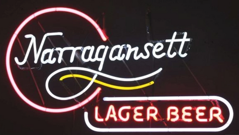 Narragansett beer Handmade Art Neon Signs