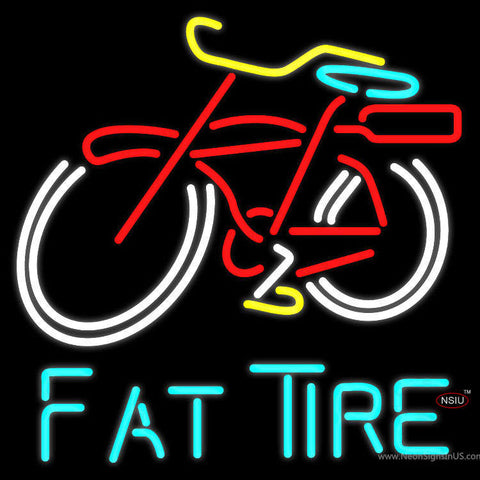 Fat Tire Beer Neon Sign