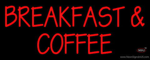 Breakfast And Coffee Neon Sign