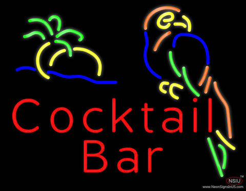 Cocktail Bar Real Neon Glass Tube Neon Sign