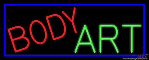 Body Art Real Neon Glass Tube Neon Sign
