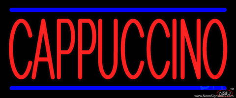 Cappuccino Real Neon Glass Tube Neon Sign
