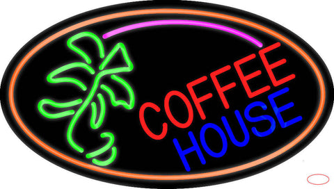 Coffee House Real Neon Glass Tube Neon Sign