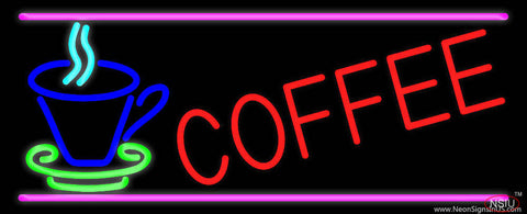 Coffee In Between Glass Real Neon Glass Tube Neon Sign