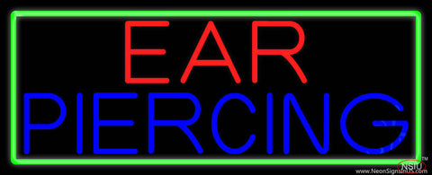 Ear Piercing Real Neon Glass Tube Neon Sign
