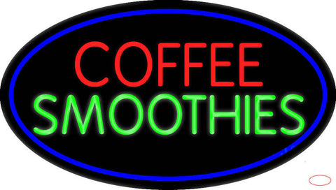 Red Coffee Smoothies Real Neon Glass Tube Neon Sign