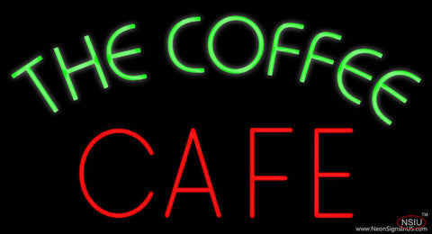 The Coffee Cafe Real Neon Glass Tube Neon Sign