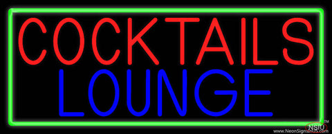Cocktail Lounge Real Neon Glass Tube Neon Sign