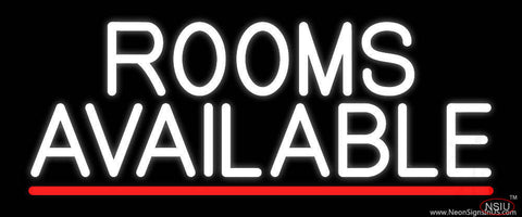 Rooms Available Vacancy Real Neon Glass Tube Neon Sign