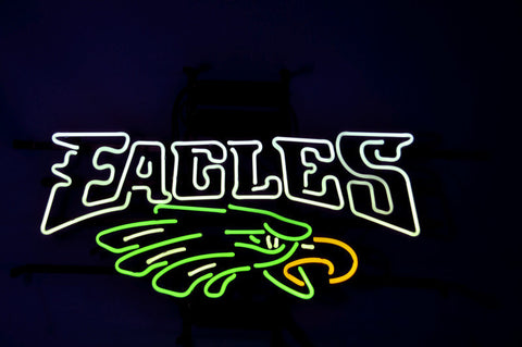 Nfl Philadelphia Eagles Football Neon Sign