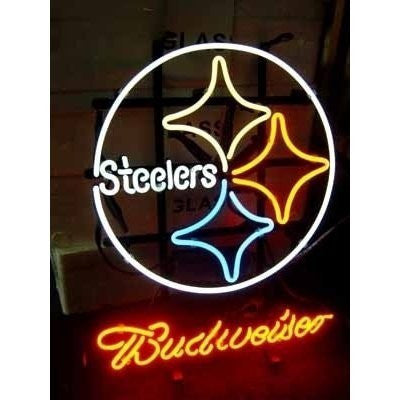 Nfl Pittsburgh Steelers Budweiser Neon Sign