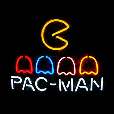 Professional  Pac Man Neon Sign