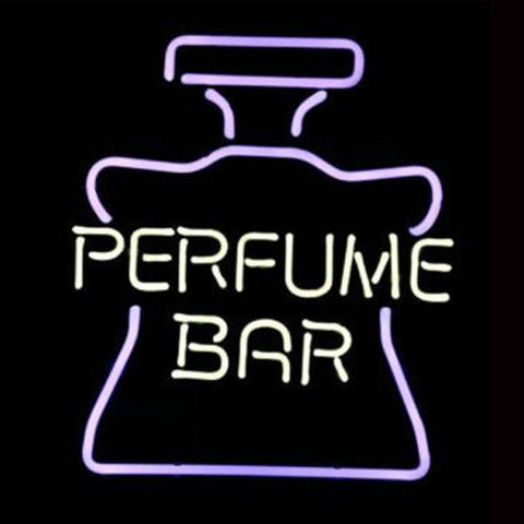Professional  Perfume Bar Bottle Logo Store Pub Display Beer Real Neon Sign Gift Fast