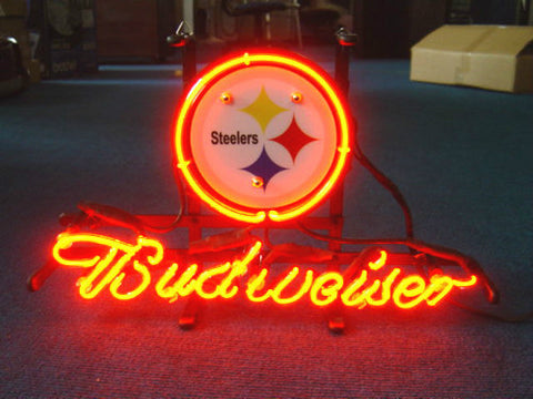 Pittsburgh Steelers Footballneon Sign