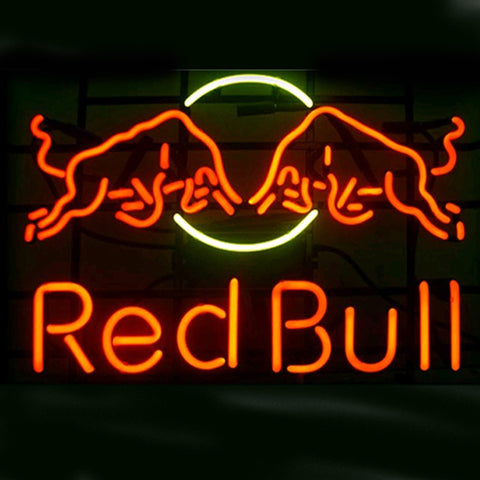 Professional  Red Bull Shop Open Neon Sign