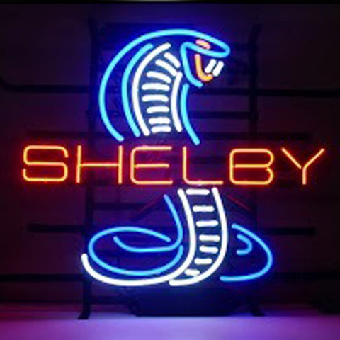 Professional  Shelby Cobra Neon Sign