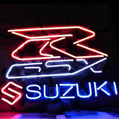 Professional  Suzuki Asian Auto Beer Bar Neon Sign