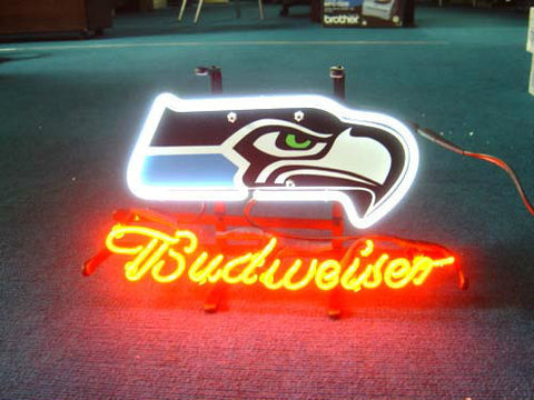 Seattle Seahawks Football Neon Sign