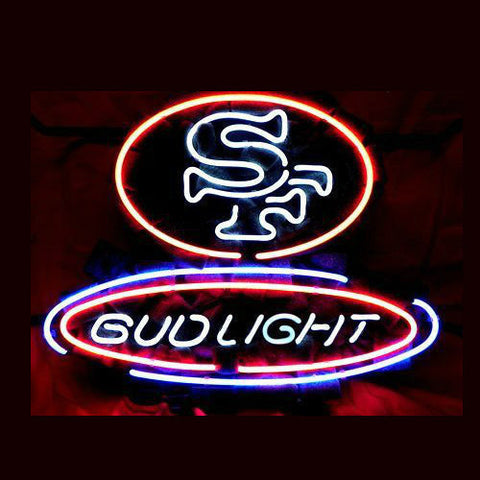 Sf San Francisco 49Ers Football Neon Sign