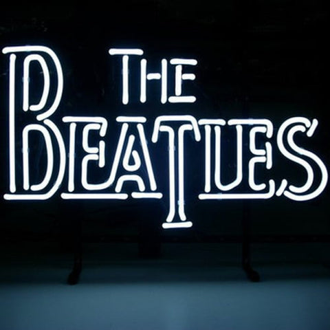 The Beatles Fab Four Handmade Art Neon Sign